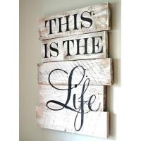 Portable Wall Sign Sayings WP0133 Wall Hanging Type Simple Maintenance Manufactures