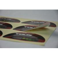 Golf Waterproof Vinyl Label Stickers Strong Glue For Brand Protection Manufactures