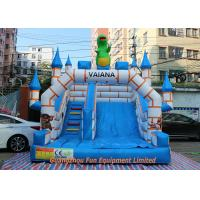 Buy cheap Commercial Inflatable Slid Giant Inflatable Bouncer With Slide from wholesalers