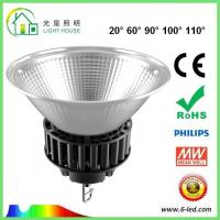 Energy Saving 100 Watt Led High Bay Light For Commercial Lighting , 100-120LM/W Efficiency Manufactures