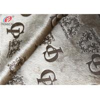 100% Polyester Knitted Velvet Glue Printed Fabric Plush Velboa Fabric For Sofa Manufactures