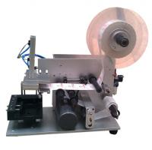 LM-60 semi automatic square bottle labeling machine Manufactures