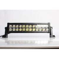 IP67 13.5 Inch / 72W 4x4 Offroad Car Straight Double Row Epistar Led Light Bar Manufactures