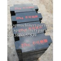Low-rise residential and commercial buildings Schindler  passenger elevator parts iron steel load balance weight 27KGS Manufactures