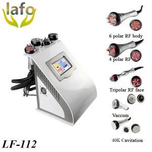 LF-112 5 IN 1Vacuum Cavitation Bipolar RF Skin Tightening Machine Manufactures