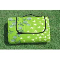Bright Green Grass Pattern Washable Outdoor Picnic Blanket