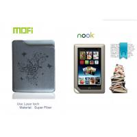 Pattern Super Fiber Personalized Mofi Tablet Protective Leather Nook Case with Laser Logo Manufactures