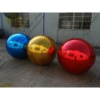 Inflatable Helium Advertising Balloon , Pvc Red Mirror Balloon Manufactures