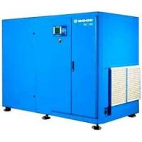 China Full automatically industrial 75HP belt type screw air compressors (air cooling type) on sale