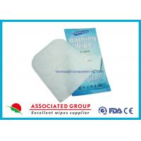 Wet Nonwoven Exfoliating Hand Gloves For Medical , Baby Wipe Gloves Manufactures