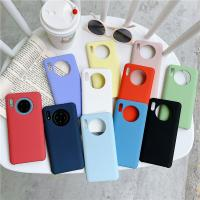 Wholesale Pure Liquid Silicone Cases For Huawei mate 20 Lite 30 Pro P30 20X 5G Honor 10 20 P20 P30 Nova 5 Pro Soft Cover Manufactures
