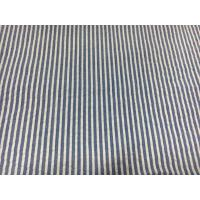 Bed / Clothes Cotton Striped Seersucker Fabrics Durable 60+40*60 120*98 Manufactures