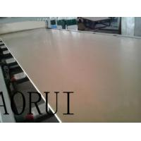 Quality Double Conical Screw PVC Foam Board Production Line Recycled for Advertising for sale