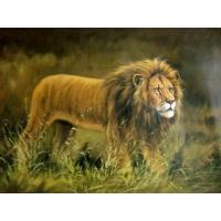 Lion Oil Painting (ANIMAL009) Manufactures