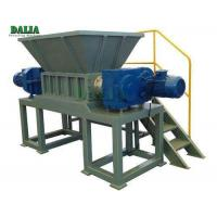 Steel / Plastic Single Shaft Shredder Machine 45KW Power Reliable Utilization Manufactures