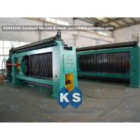 Heavy Duty Hexagonal Mesh Machine Weaving Width 4300mm Galvanized Wire 4.0mm Manufactures