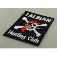 100% Embroidery Patches And Uniform Lapel For Police Garment Manufactures