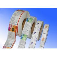 Heat Sensitive Adhesive Paper Stickers , Adhesive Label Paper For Protective Film Manufactures