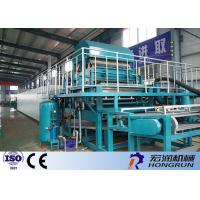 PLC Control Paper Egg Crate Making Machine With Automatic Computer Software Manufactures