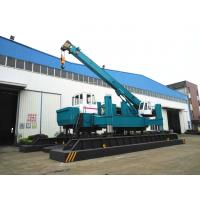 ZYC460 Hydraulic Static Pile Driver , Pile Drilling Equipment 16T Crane Manufactures