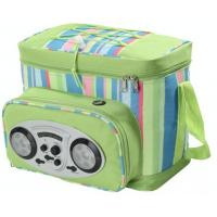 Music cooler bag with speaker Thermos cooler bag for garden lunchbag Manufactures