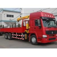 5 Ton Hydraulic Truck Loader Crane , 32 L/min 10m Max Reach with Low Price Manufactures
