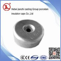 steel cap for solid core station post insulator Manufactures