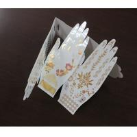 China Water transfer gold temporary tattoo sticker on sale