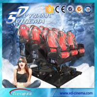 2250 Watt 220 Volt 5D Cinema Equipment , 5D Motion Ride With Surround Sound For Game Manufactures