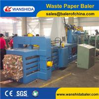 50TON China Automatic Horizontal Waste Paper Balers machine For plastic films and PET Bottles for recycling Manufactures