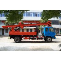 Powerful Truck Mounted Drilling Rig Mechanical Driven For Bridge , Dam Manufactures