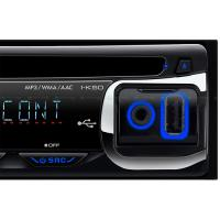 LCD Displa jvc car cd player with AM/FM 2-BAND Radio Digital Electrical Turning Manufactures