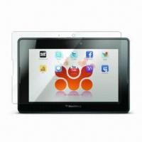 China Premium Clear Screen Protector for RIM's BlackBerry Playbook, Protective Shield Guards against Dust on sale