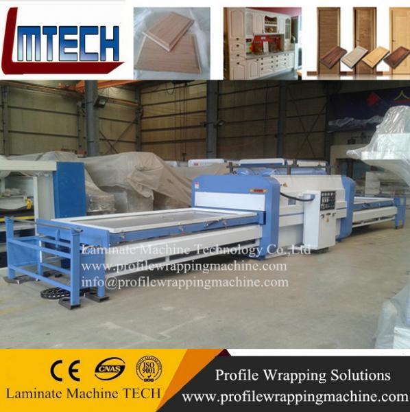 PVC garage doors vacuum membrane press machine