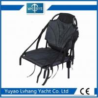 China Logo Painting Kayak Boat Accessories Durable Aluminum Folding Fishing Chair on sale