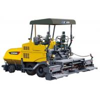 Concrete Asphalt Paver Machine With 150mm Paving Thickness Electric Auto Leveling System Manufactures