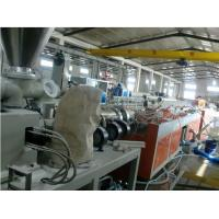 Wood Plastic Composite Decking Production Line / PVC Profile Extrusion Line Manufactures