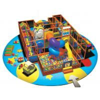 Children Indoor Playground Equipments with Swing Ball and Slide A-09303 Manufactures