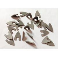 High Hardness YG8 Triangle Tungsten Carbide Tips For Ceramic Drill Bit Manufactures