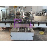 Balanced Pressure Soft Drink Filling Machine 2000BPH For Carbonated Drinks Manufactures