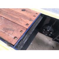 Merbau Semi Trailer Spare Parts Timber Floor 3-5mm Thickness For Truck Manufactures
