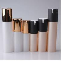 15ml 30ml 50ml Cosmetic Round Plastic Acrylic Lotion Airless Bottle Manufactures