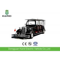 Maintenance Free Battery Used Classic Open Top Sightseeing Bus 11 Seater Electric Classic Car Manufactures