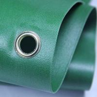 Green 100 Woven Polypropylene Textiles With Holes For Solvent Printing Manufactures
