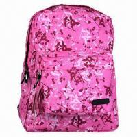 Troditional Simple Backpack with All Over Printing Manufactures