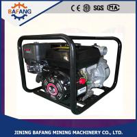 China 3.1KW Petrol engine water pump/Hand small agricultural water pump with low price on sale
