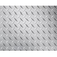 Embossed High Glossy Aluminium Checker Plate 12000mm Length For Interior Decorating
