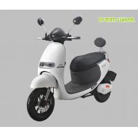 Adult Electric Powered Moped Scooter With Pedals 10 Inch Wheel Manufactures
