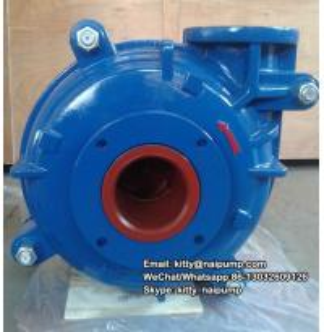 China 6/4 E -AH Rubber & Metal Liner  Sand Ash Horizontal Slurry Pump on sale