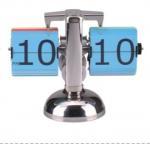 Mini Retro Flip Standing Floor Clock Colorful For Office Decorative Manufactures